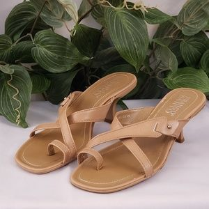 Franco Sarto leather sandals size 8M